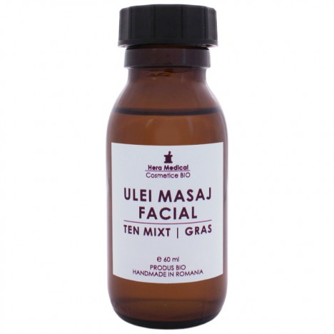 ULEI DE MASAJ FACIAL | TEN MIXT & GRAS | 60 ml