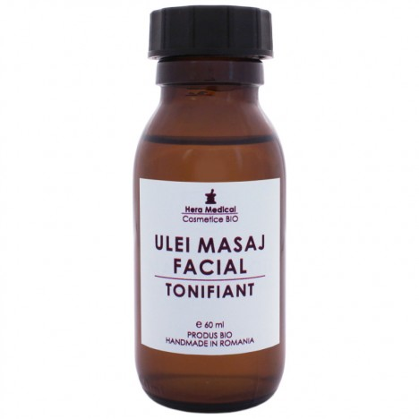 ULEI DE MASAJ FACIAL | TONIFIANT | 60 ml